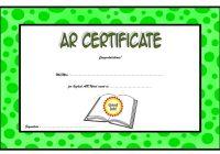 AR Certificate Template 1