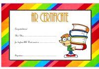 AR Certificate Template 3