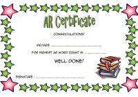 AR Certificate Template