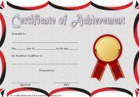 Academic Achievement Certificate Template 8