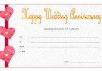 Anniversary Gift Certificate 2