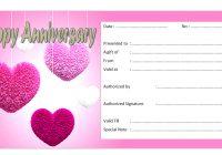 Anniversary Gift Certificate 3