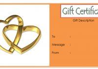 Anniversary Gift Certificate 6