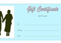 Anniversary Gift Certificate 7