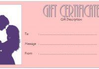 Anniversary Gift Certificate 8