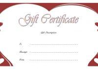 Anniversary Gift Certificate 9