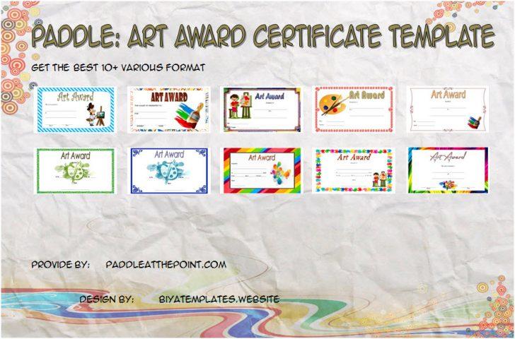 Permalink to FRENZY Art Award Certificate Template – FREE 10+ Best Ideas