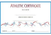Athletic Award Certificate 6