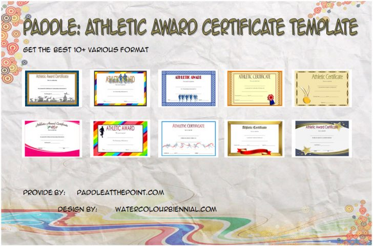 Permalink to Athletic Award Certificate Template – 10+ Best Designs Free