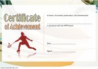 Badminton Achievement Certificate Template 1