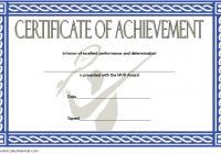Badminton Achievement Certificate Template 4
