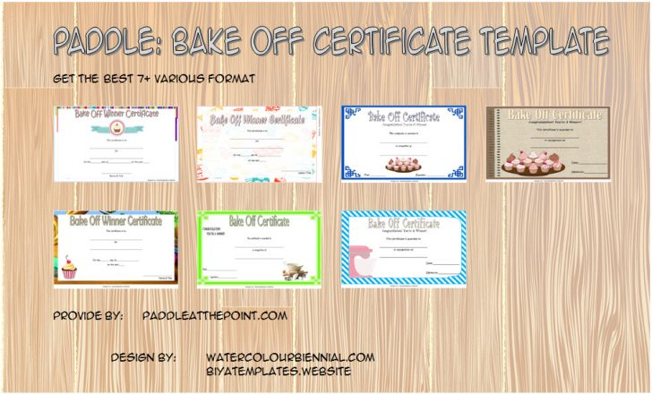 Permalink to Download Bake Off Certificate Template Free: 7+ Best Ideas