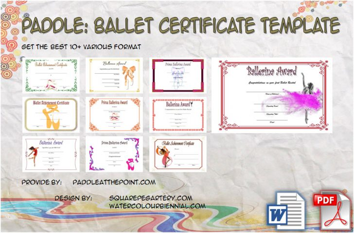 Permalink to TOP 2020 Ballet Certificate Template: FREE 10+ Pretty Ideas