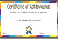 Baseball Achievement Certificate Template 2