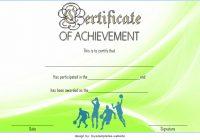 Basketball Achievement Certificate Template 4