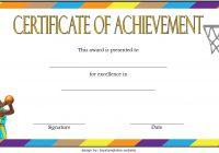 Basketball Achievement Certificate Template 7