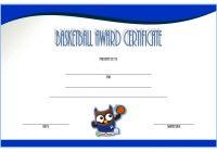 Basketball Certificate Template 1