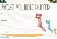 Basketball MVP Certificate Template 5