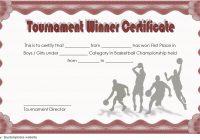 Basketball Tournament Certificate Template 6