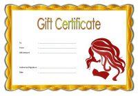 Beauty Salon Gift Certificate 4