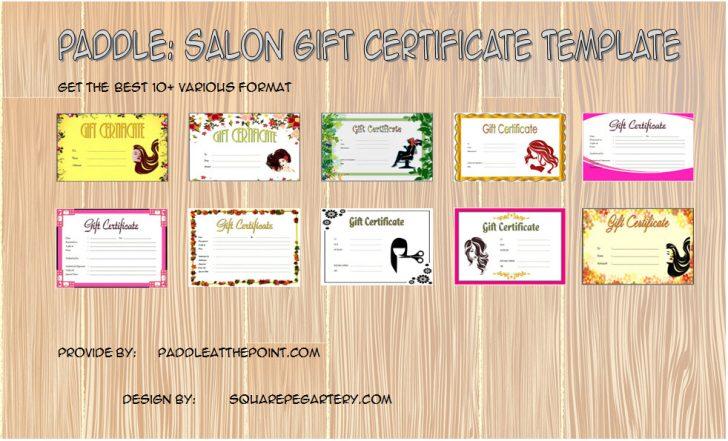 Permalink to Beauty Salon Gift Certificate