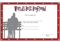 Best Boyfriend Certificate Template 1