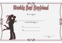 Best Boyfriend Certificate Template 2