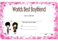Best Boyfriend Certificate Template 3