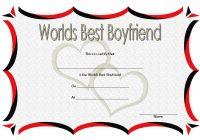 Best Boyfriend Certificate Template 5