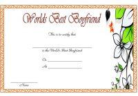 Best Boyfriend Certificate Template 7