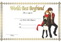 Best Boyfriend Certificate Template 9