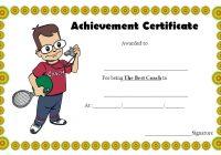 Best Coach Certificate Template 5