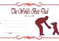 Best Dad Certificate Template 7
