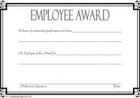 Best Employee Certificate Template 4