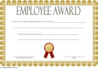 Best Employee Certificate Template 5