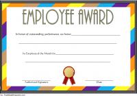 Best Employee Certificate Template 6