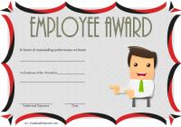Best Employee Certificate Template 7