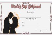 Best Girlfriend Certificate Template 2
