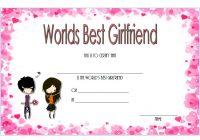 Best Girlfriend Certificate Template 3