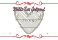Best Girlfriend Certificate Template