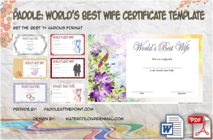 Permalink to Best Wife Certificate Template Free Download