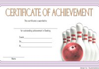 Bowling Certificate Template 8