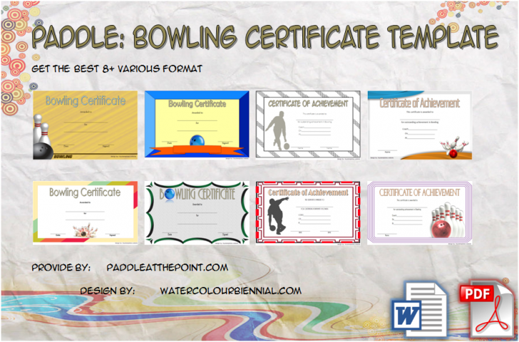 Permalink to Bowling Certificate Template – 8+ Odd Design Ideas Free