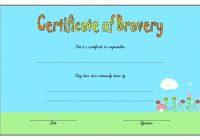 Bravery Award Certificate Template 5
