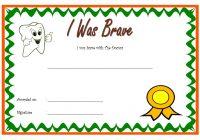 Bravery Award Certificate Template 7