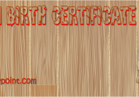Cat Birth Certificate Free Printable by Paddle