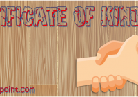 Certificate of Kindness Template – 7 Award Ideas by Paddle