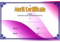 Certificate of Merit Award Template 5