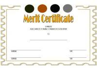 Certificate of Merit Award Template 6