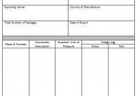 Certificate of Origin Template 4